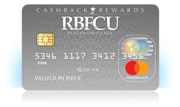 RBFCU CashBack Rewards MasterCard