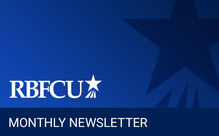 RBFCU Monthly Newsletter