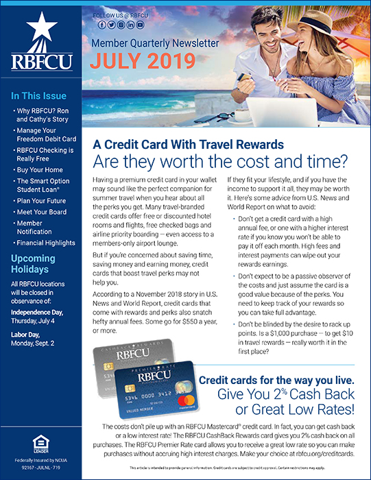 Thumbnail of July 2019 newsletter cover