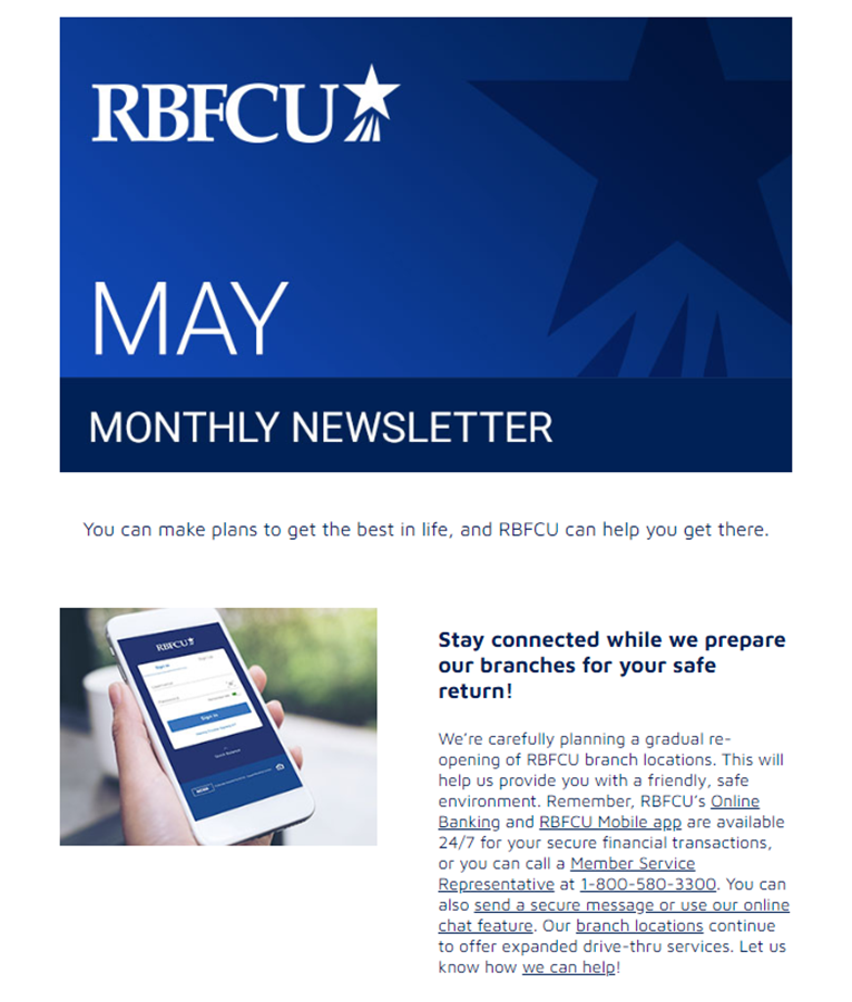 Thumbnail of May 2020 eNewsletter