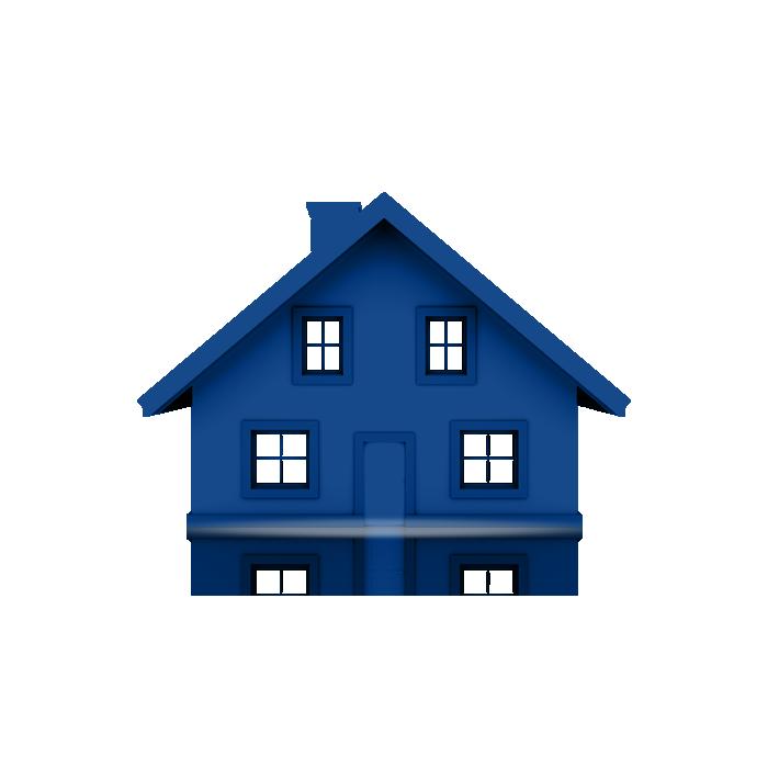 3D-Blue-House