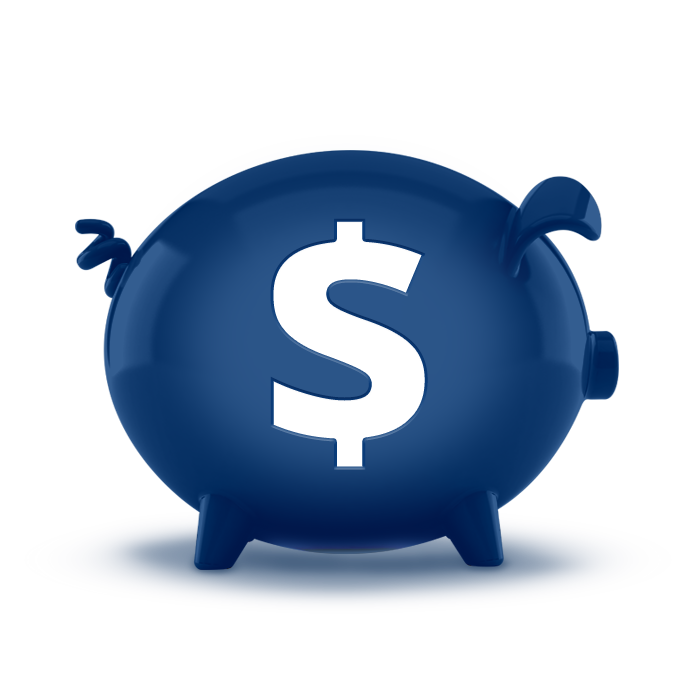 Savings account options rbfcu for Transparent piggy bank money box
