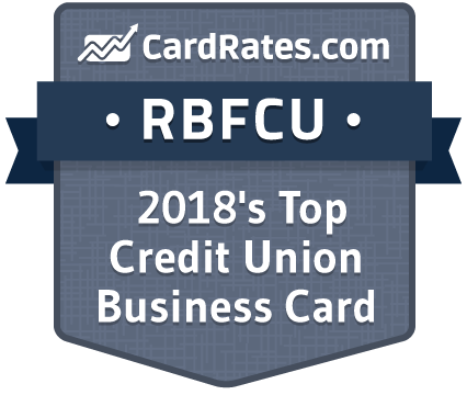 CardRates.com: RBFCU is 2018's Top Credit Union Business Card