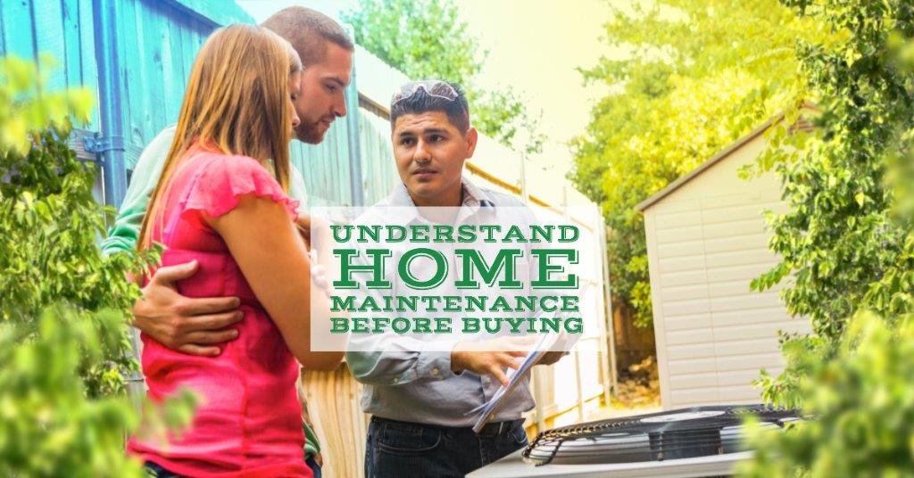 UnderstandHomeMaintenanceBeforeBuying